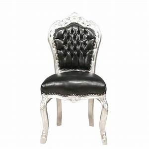 Chaise Baroque Noir : black baroque chair armchairs ~ Teatrodelosmanantiales.com Idées de Décoration