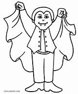 Vampire Coloring Pages Dracula Vampires Halloween Printable Drawing Cool2bkids Colouring Scary Diaries Sheets Cartoon Teeth Anime Children Face Boys Getcolorings sketch template