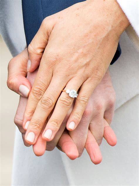 see meghan markle and prince harry s wedding rings
