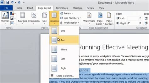 Layout Word by How To Format Your Text Into Two Columns In Microsoft Word