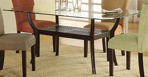 dining room tables glass top rectangular glass top dining With glass topped dining room tables