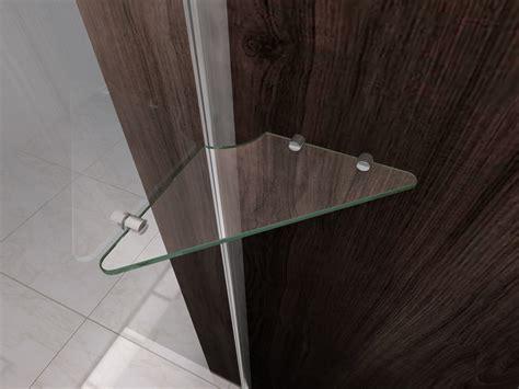mensola doccia box doccia in cristallo con apertura a battente interna quot 1020 quot