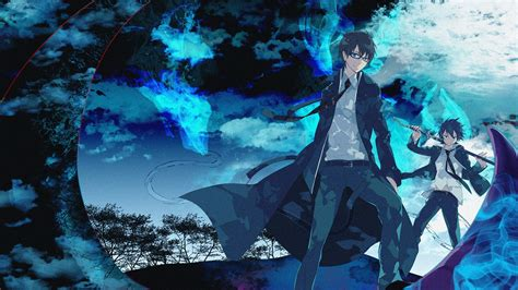 Anime Wallpaper Blue - blue exorcist hd wallpaper and background image
