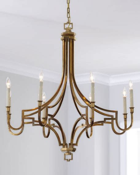 Horchow Chandelier by Visual Comfort Large Mykonos 8 Light Chandelier