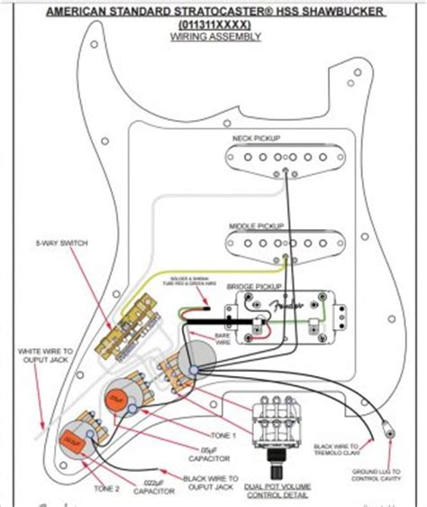 Shawbucker Wiring Leading Questions Fender Stratocaster