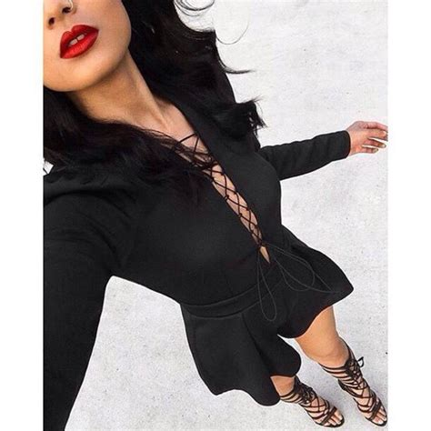Romper ashanti brazil black playsuit party dress party outfits ootn outfit inspo black ...