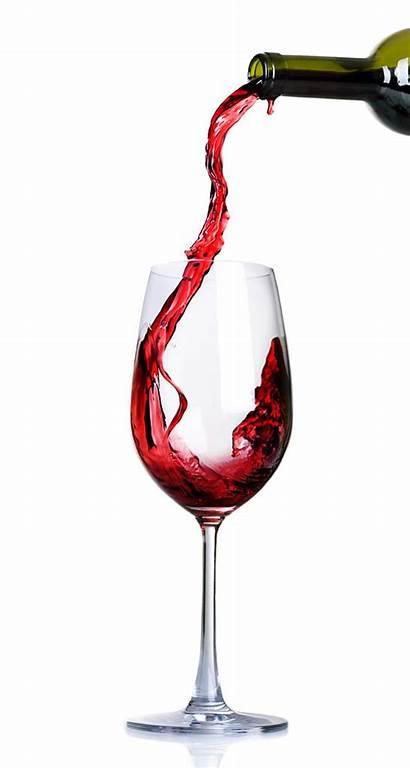 Wine Vino Vinho Pouring Vin Glass Into