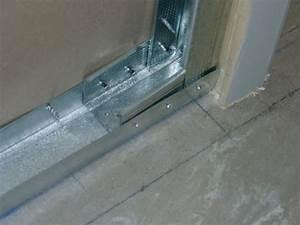 Couper Rail Placo : renfort encadrement de porte black bedroom furniture sets ~ Melissatoandfro.com Idées de Décoration