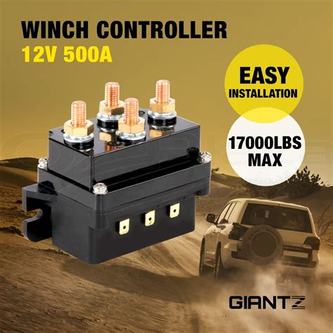 winch controller solenoid  dc switch wd  boat