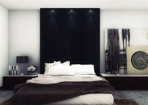 cool headboard bed  bachelor room