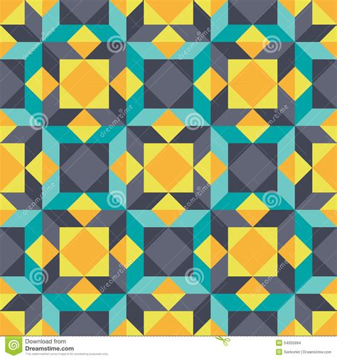abstract background geometric seamless vector pattern