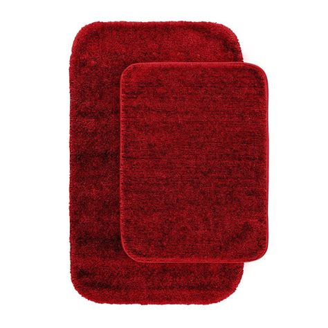red rugs for bathroom