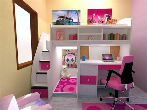 decoration  kids room loft beds  teen girl bedrooms