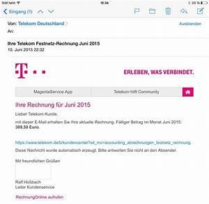 Telekom Mobilfunk Rechnung Online : rechnung ~ Themetempest.com Abrechnung