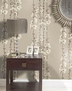 Tapeten Wohnzimmer Ideen 2014 : 85 papiers peints salon aux motifs floraux et baroques ~ Bigdaddyawards.com Haus und Dekorationen