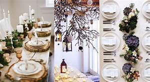 Dcoration Table Nol Dco Nature Journal De La Maison