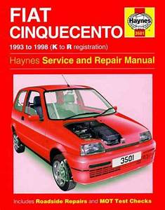 Fiat Cinquecento 1993 1998 Haynes Service Repair Manual