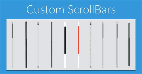 custom scrollbar   website alexander georgiev