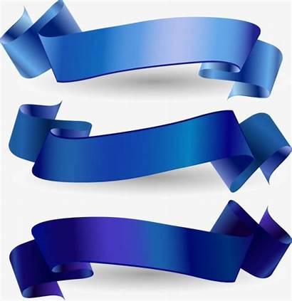 Ribbon Banner Vector Clipart Frame Material Pngtree