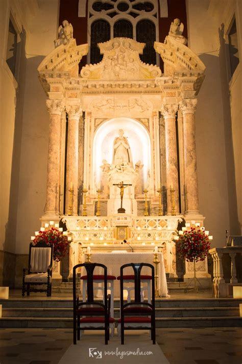 Decoración para boda católica en la Iglesia San Pedro