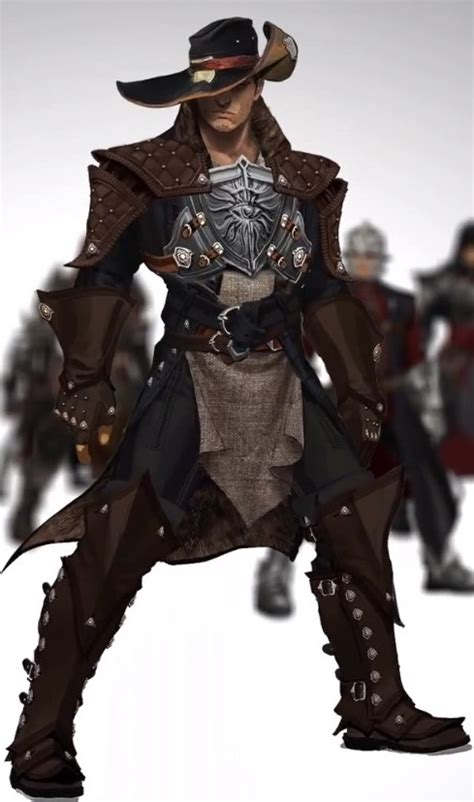 rogue fantasy dragon age inquisition character inquisitor armor concept dnd flintlock wikia pirate female looking clothing inspiration
