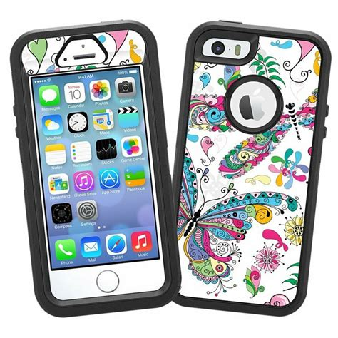 iphone 5s accessories butterflies and dragonflies quot protective decal