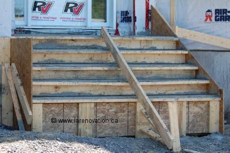 comment faire un escalier en beton comment construire escalier beton exterieur la r 233 ponse est sur admicile fr