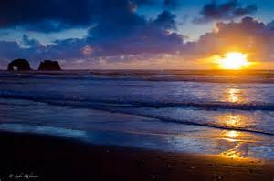 Rockaway Beach Oregon Sunset
