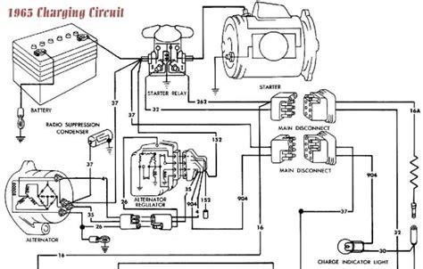 alternator wiring diagram 65 mustang diagrams online