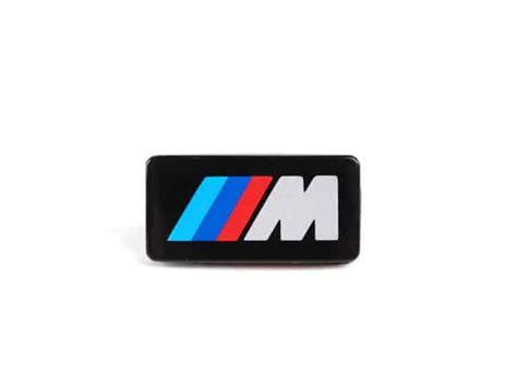 Bmw Sport Steering Wheel M Badge / Emblem Replacement