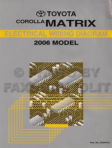2005 Toyota Corolla Matrix Wiring Diagram Original
