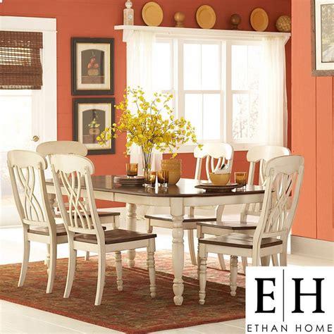 ethan home mackenzie  piece country style  tone cherry