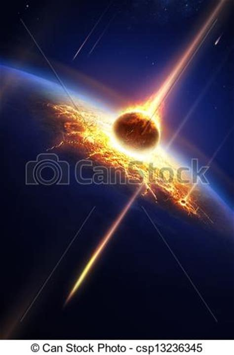 earth   meteor shower elements   image furnished