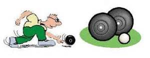 Carpet Bowls Equipment by Indoor Bowls Clip Art Clipart Free Download