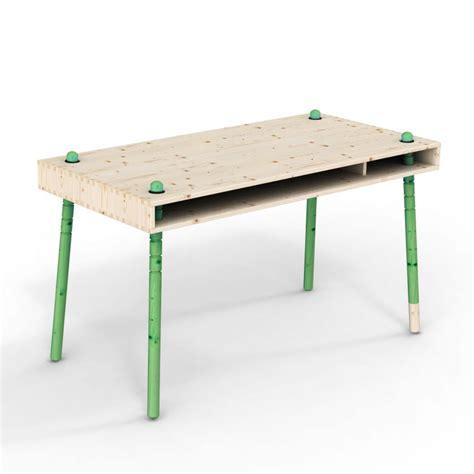 le bureau verte caspar bureau enfant évolutif pieds verts perludi pour