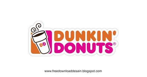 logo dunkin donuts   desain