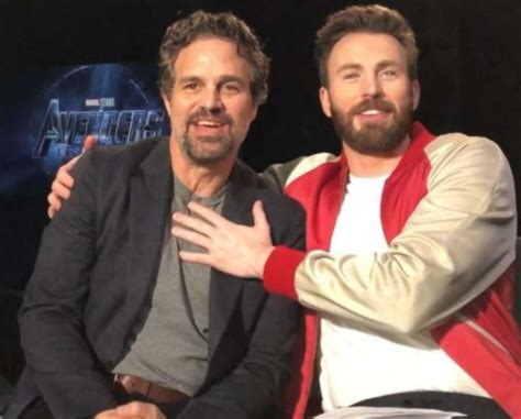Mark Ruffalo comes out in support of Chris Evans after he ...
