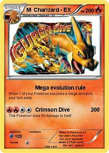 Pokémon M Charizard EX 6 6 - Mega evolution rule - My ...