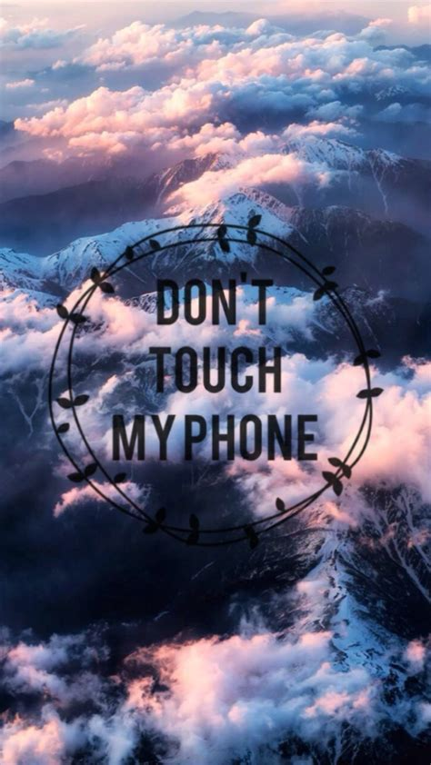 Phone lock screen with or without passcode. Don T Touch My Phone Desktop Photos. | Dont touch my phone wallpapers, Phone backgrounds, Ipod ...