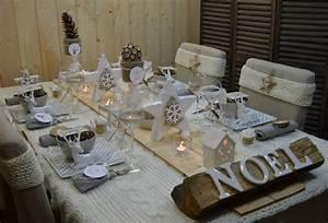 Idee Deco De Table Noel : pour votre decoration de table de noel ~ Zukunftsfamilie.com Idées de Décoration