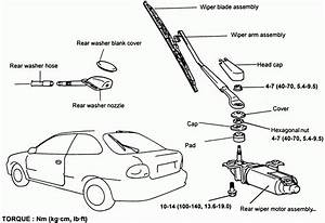 windshield wiper parts diagram wiring diagram and fuse With tundra wiper motor replacement motor repalcement parts and diagram