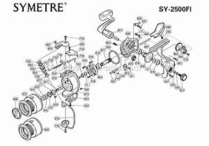 Shimano Symetre Spinning Reel