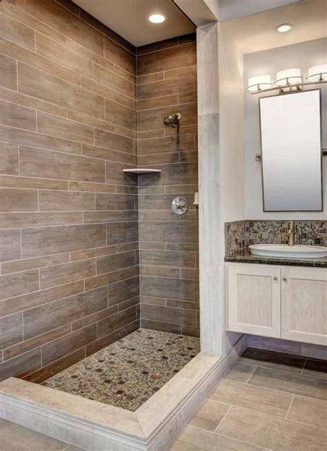 azulejos  banos pequenos fresco azulejos piedras bano