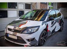 Ford Focus mit Camouflage Edition Folierung by Check Matt