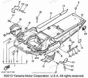 Yamaha Snowmobile 1990 Oem Parts Diagram For Frame