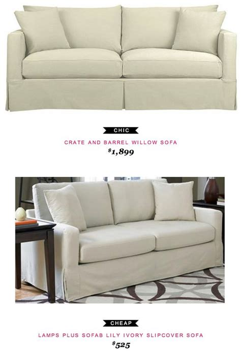 Crate And Barrel Willow Sleeper Sofa by Slipcover Sofa Lilies And Crate And Barrel On