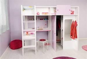 Regal Mit Spiegel : hochbett mit kleiderschrank und schreibtisch f r hochbetten kinderzimmer ~ Sanjose-hotels-ca.com Haus und Dekorationen
