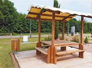 Table Exterieur En Bois : table en bois avec banc exterieur perfect table de jardin ~ Teatrodelosmanantiales.com Idées de Décoration