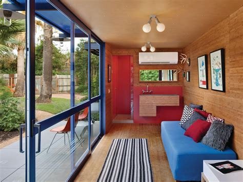 shipping container homes interior design shipping container guest house by jim poteet architecture design