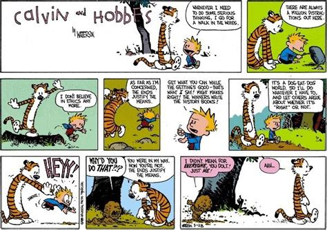 This Calvin And Hobbes Comic Is A Prime Example Of Duty